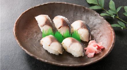ぼうぜ鯖寿司