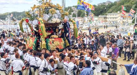 恵美酒神社 秋祭り