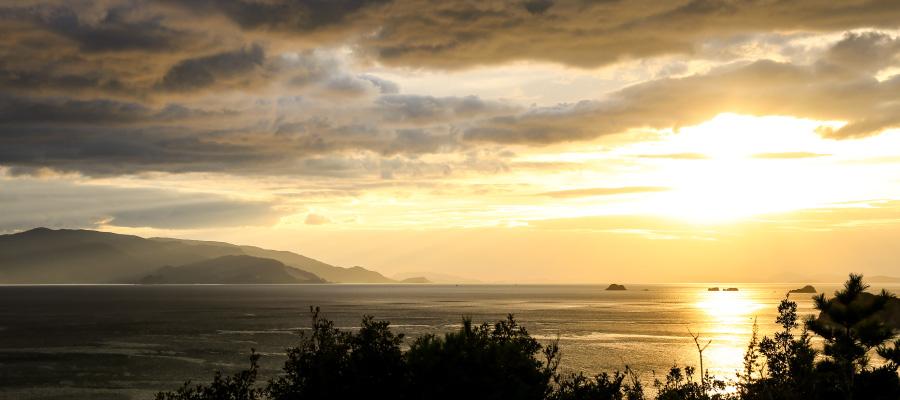 かしわの山展望台からの景色